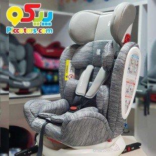 صندلی ماشین کودک KIKKA BOO مدل 4Fix Light Grey