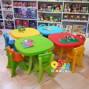خریدمیز کودک وانیا رنگ قرمز زرد کد101