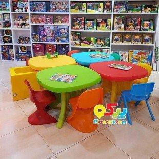 قیمت میز کودک پیکو رنگ قرمز زرد کد101