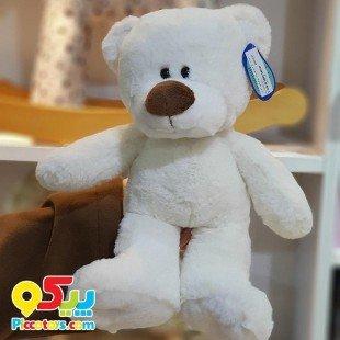 خرید عروسک پولیشی خرس سفید مدل 2501761