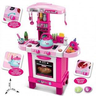 ست آشپزخانه کودک با لوازم مدل 008939