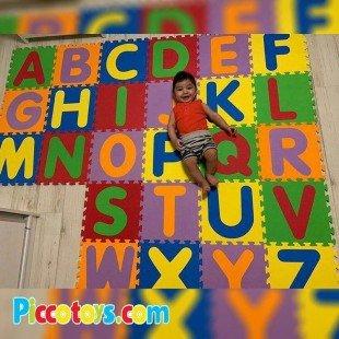 کفپوش (تاتامی) 26 عددی حروف لاتین 33*33 سانتی متری مدل 2028