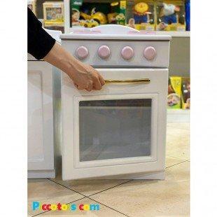 آشپزخانه 4 تکه رنگی شیری گلبهی