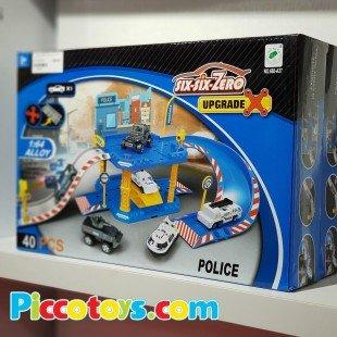 اسباب بازی پارکینگ طبقاتی پلیس مدل 66027