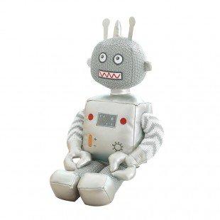 عروسک ربات نقره ای کوچک مدل 1065