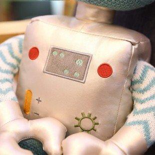 خصوصیات عروسک ربات آبی کوچک مدل 1065