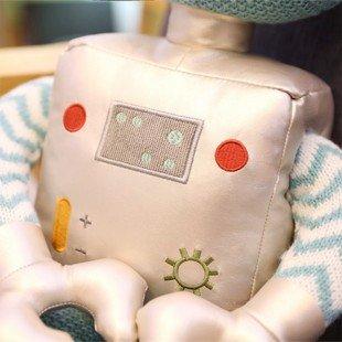 اسباب بازی ربات آبی نقره ای مدل 1066