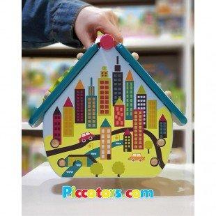 هدیه تولد اسباب بازی چوبی