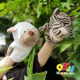 پاپت و عروسک نمایشی سگ مدل JW015