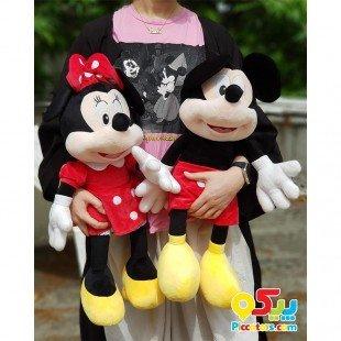 عروسک جفتی میکی و مینی موس مدل Jw009