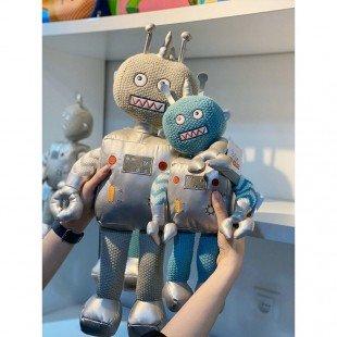 عروسک بازی ربات آبی کوچک مدل 1065