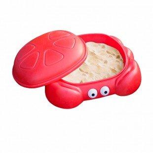 استخر شن  picco طرح خرچنگ رنگ قرمز کد 30040