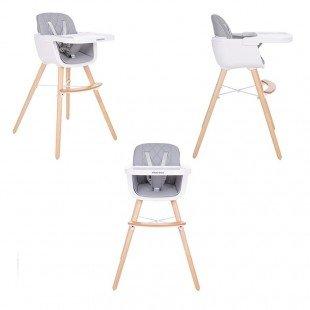صندلی غذا چوبی