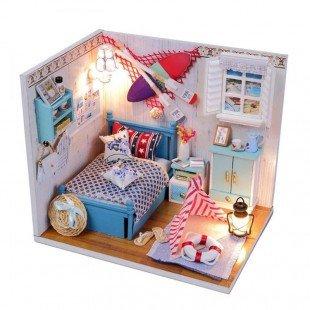 کیت خانه سازی چوبی اتاق خواب Brandon مدل M010