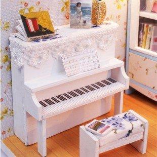 خرید کیت خانه سازی چوبی اتاق پیانو مدل M011