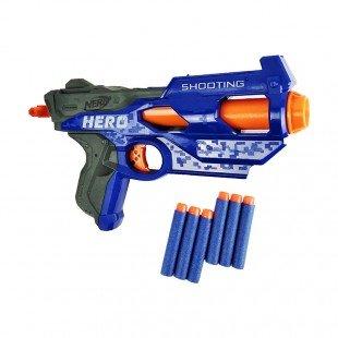 تفنگ اسباب بازی کودک نرف آبی مدل 7023