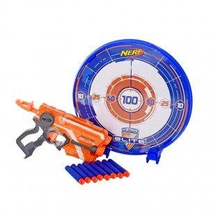 تفنگ اسباب بازی  کودک نرف با صفحه سیبل مدل 7017