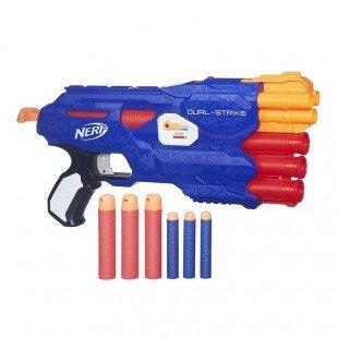 تفنگ اسباب بازی نرف ضامن دار مدل 0642
