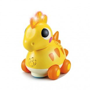 دایناسور زرد Huile Toys مدل 6110