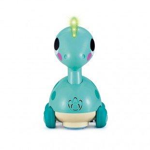 اسباب بازی موزیکال طرح دایناسور آبی Huile Toys مدل 6110