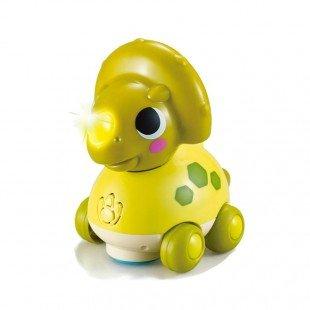 اسباب بازی موزیکال دایناسور سبز Huile Toys مدل 6110