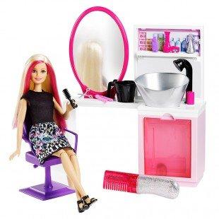 عروسک باربی با میز آرایش بزرگ مدل DTK05