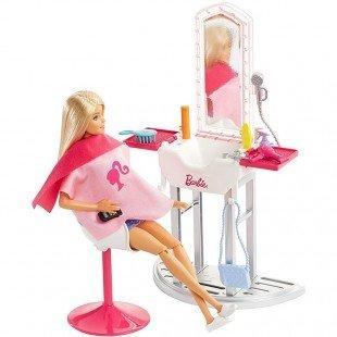 قیمت عروسک باربی با میز آرایش مدل FJB36