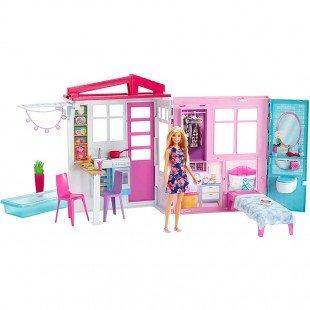 خانه عروسک باربی با عروسک مدل FXG55