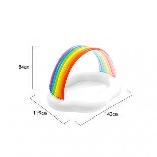 استخر بادی رنگین کمان  intex مدل 57141