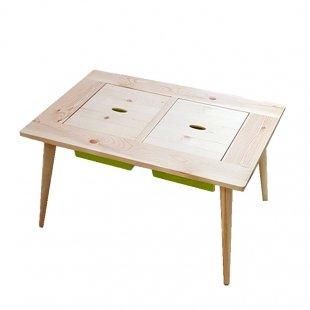 لوازم مونته سوری میز چوبی