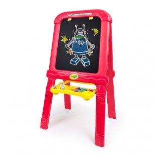 خرید تخته نقاشی دوطرفه با لوازم  crayola مدل 5091