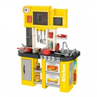آشپزخانه کودک با سینک و گاز موزیکال مدل  922104