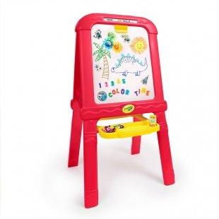 تخته نقاشی دوطرفه با لوازم  crayola مدل 5091