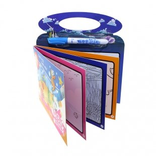 کتاب نقاشی و رنگ آمیزی با ماژیک جادویی طرح پپاپیگ  مدل BH301