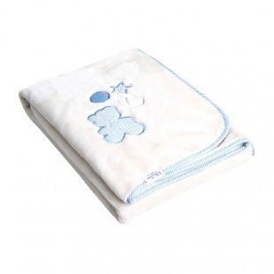 پتو  نوزاد و کودک رنگ آبی Kikka Boo مدل 318335