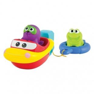 اسباب بازی حمام کودک طرح قایق کششی Winfun مدل 007116