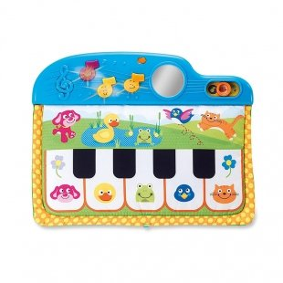 اسباب بازی کودک  پیانو و آویز موزیکال تخت  Winfun مدل 00217