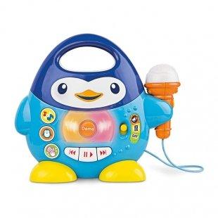 میکروفون موزیکال طرح پنگوئن winfun مدل 002514