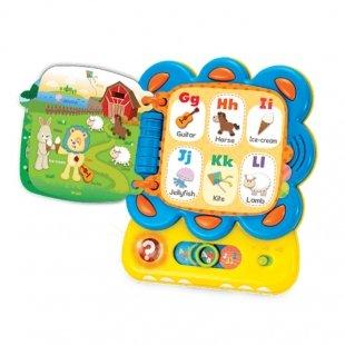 لپ تاپ موزیکال کودک طرح شیر  Winfun مدل 009209