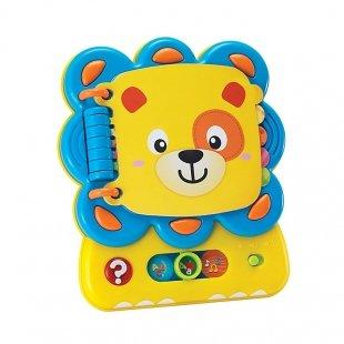 اسباب بازی آموزشی کتاب موزیکال شیر  Winfun مدل 009209