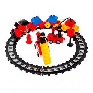 لگو موزیکال قطار کودک  طرح آتش نشانی مدل 222H63