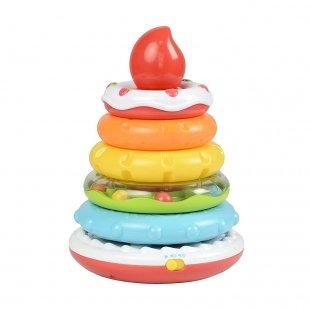اسباب بازی موزیکال حلقه هوش و استوانه کیک تولد  Winfun مدل 00730