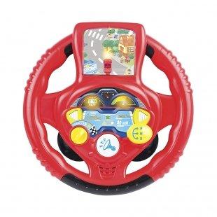 اسباب بازی فرمان موزیکال قرمز Winfun مدل 001080