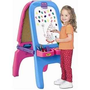 تخته نقاشی دو طرفه کودک  crayola کد 50312