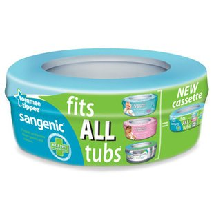كاست پوشك آنتی باکتریالHygiene Plus Single Pack Cassette tommee_tippee کد82031501