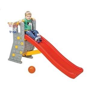 سرسره مدل قلعه با حلقه بسکتبال edu_play PIC-1016