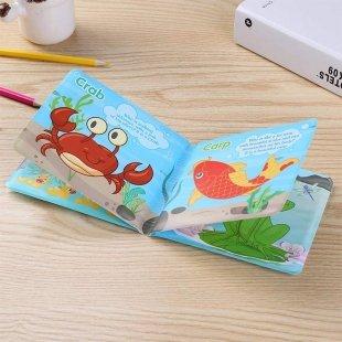 خرید کتاب حمام کودک طرح اردک و اسب آبی مدل 0957