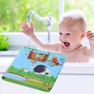 کتاب حمام کودک طرح اردک و اسب آبی مدل 0957