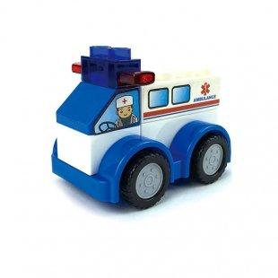 لگو ماشین کودک طرح آمبولانس مدل 222H142
