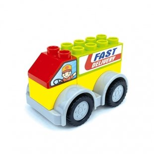 لگو ماشین کودک طرح پست مدل 222H145